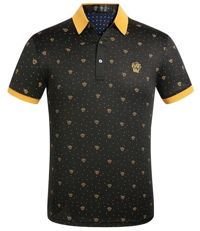 Rua Sports T-shirt 2020 tendência do verão de alta qualidade ocasional carta padrão T-shirt superior dos homens dos homens