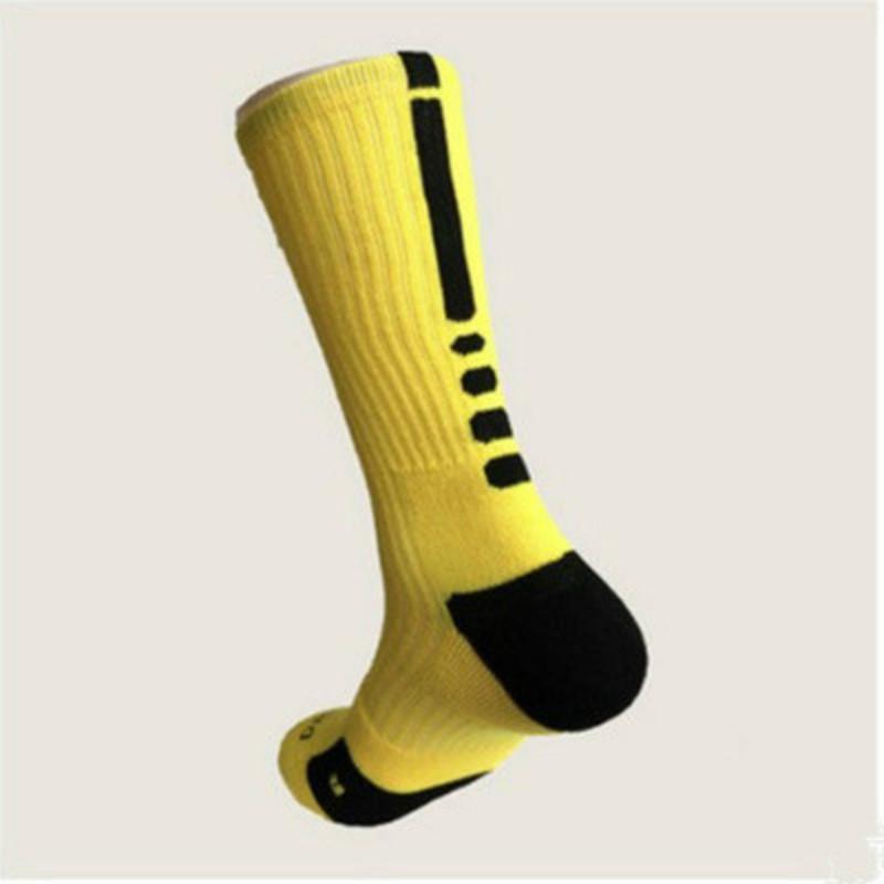 Basketball Socks Long Knee Athletic Sport Stockings USA Professional Elite Men Fashion Compression Thermal Winter Socks Free Size Loose
