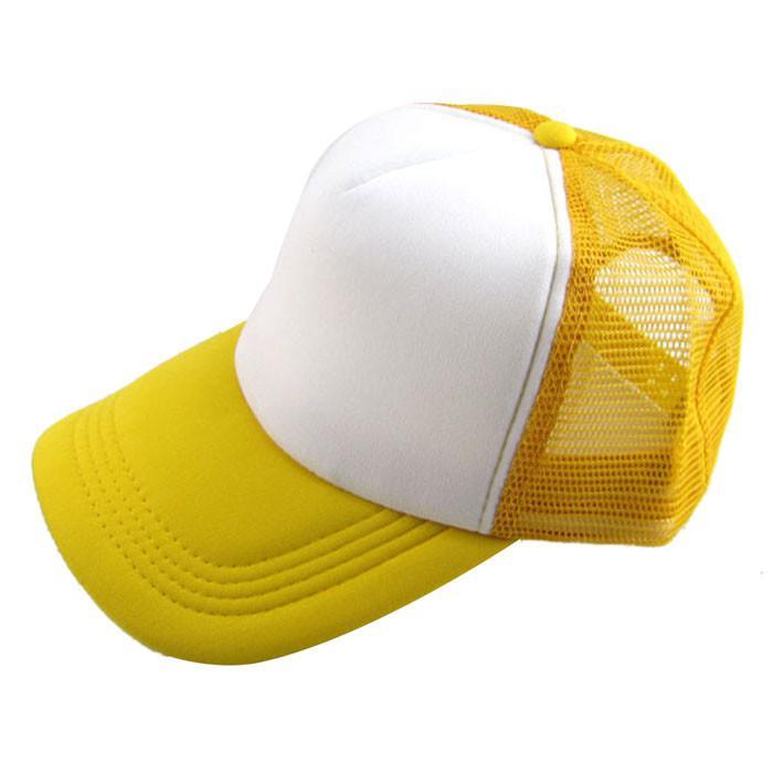 Gorra de béisbol de invierno para Sun sombreros de las mujeres unisex sólido ocasional Sombrero de la malla del visera de sombrero al aire libre Sombreros casquillos ajustables de los hombres 2019