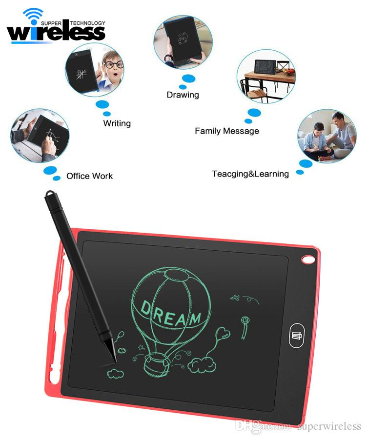 8,5 pollici portatile Smart LCD Blocco note tavoletta elettronica disegno grafica della scrittura a mano Pad consiglio per la formazione aziendale