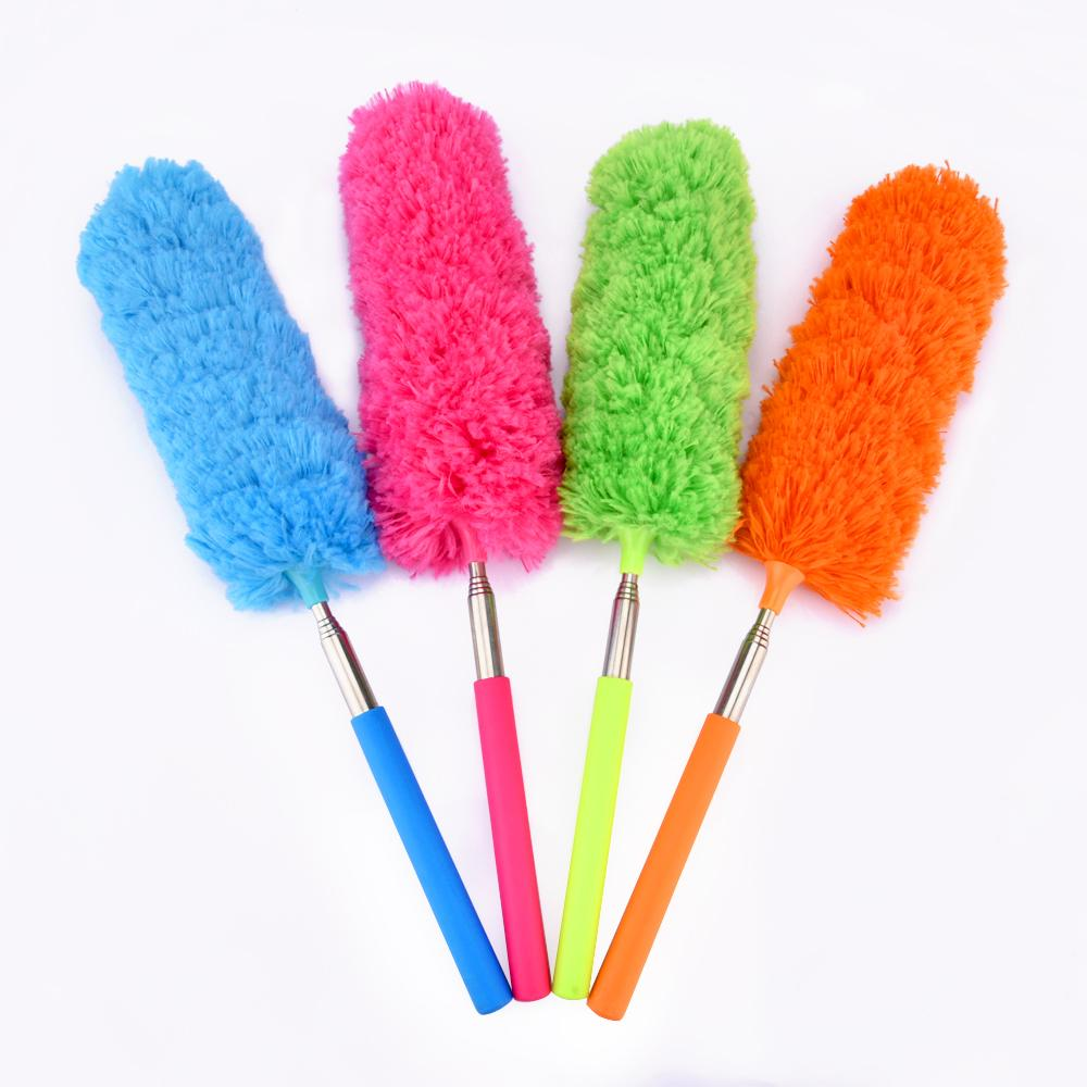 Microfiber Telescoping Duster Extendable Dust Brush Cleaner Closet Car Kitchen Accessory Household Cleaning Supplies (3)