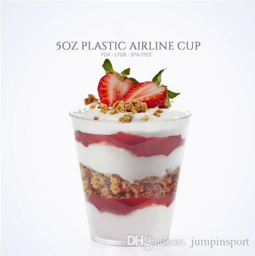 Disposable food container dessert tumbler cocktail mousse ice cream cup Dessert cups tasting products FREE SHIPPING