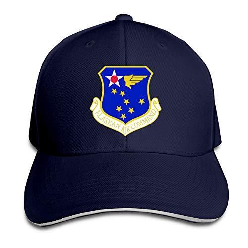 Alaskan Air Command Subdued Patch бейсболки регулируемый сэндвич бейсболка Unisexe Мужчины Женщины Бейсбол Спорт на открытом воздухе хип-хоп кепка