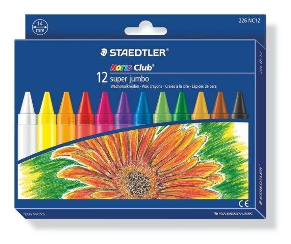 226 NC12 14 milímetros 12 cores Pastel de óleo para Artista Estudantes Drawing Pen Escola de papelaria Art Supplies Wax Crayon