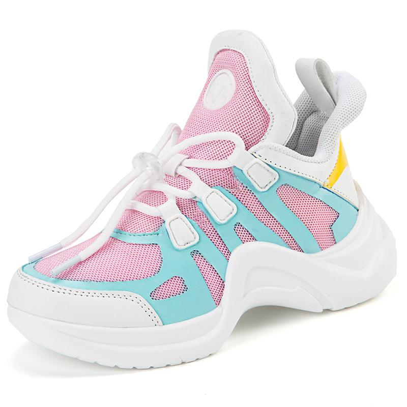 Kids Running Sneakers Spring Summer Children Sport Shoes Tenis Infantil Boy Basket Footwear Lightweight Breathable Girl Flats