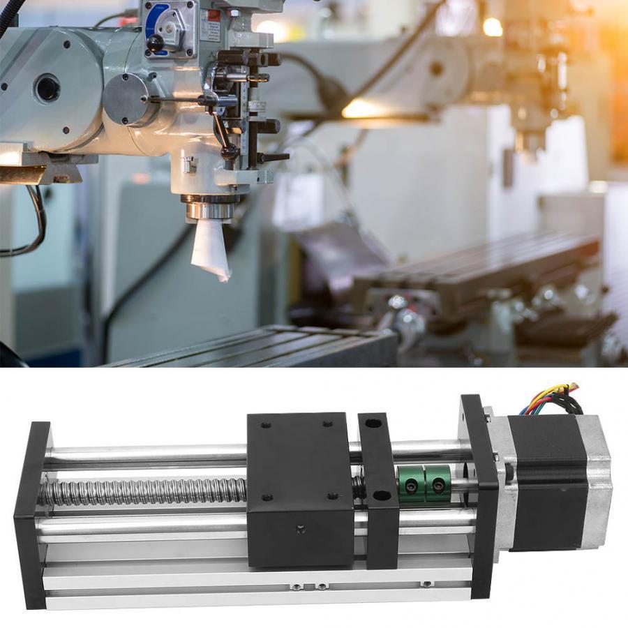 Linearbewegungs-Doppelwellen-Kugelumlaufspindel-Linearführungsschiene aus Aluminiumlegierung mit 57 Motoren für die Automatisierungsindustrie