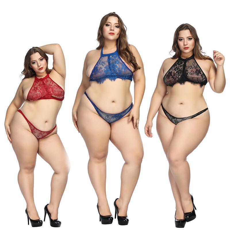 Hot Vender fio transparente mulheres livres set bra lingerie de renda íntimos sutiã sexy e cabeçada vermelho calcinha