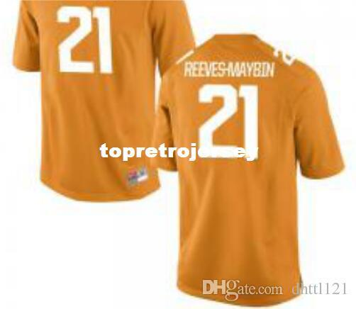 separation shoes 0f88d 8a453 2019 Cheap Men Tennessee Volunteers #21 Jalen Reeves Maybin Orange Jersey  Stitched Football Jerseys From Topretrojersey, &Price; | DHgate.Com
