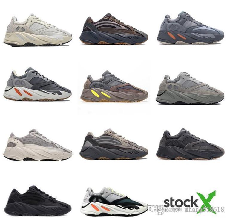 2019With caja de X Nuevo imán Utilidad Tefra Negro Vanta inercia corredor de la onda 700 Inercia malva 3M Material de mujeres de los hombres del zapato corriente US7-US13