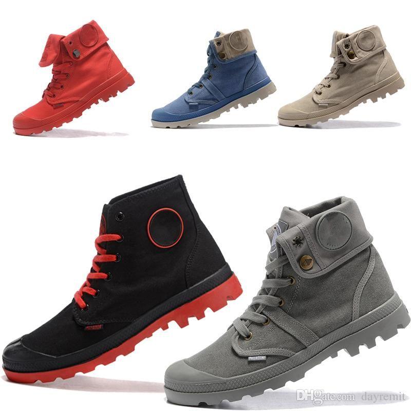 2019 botas de paladio original de la marca Warm mujeres diseñador de los hombres de deportes de invierno Rojo Blanco zapatillas de deporte casuales de arranque Formadores para hombre Las mujeres de lujo de la ECA