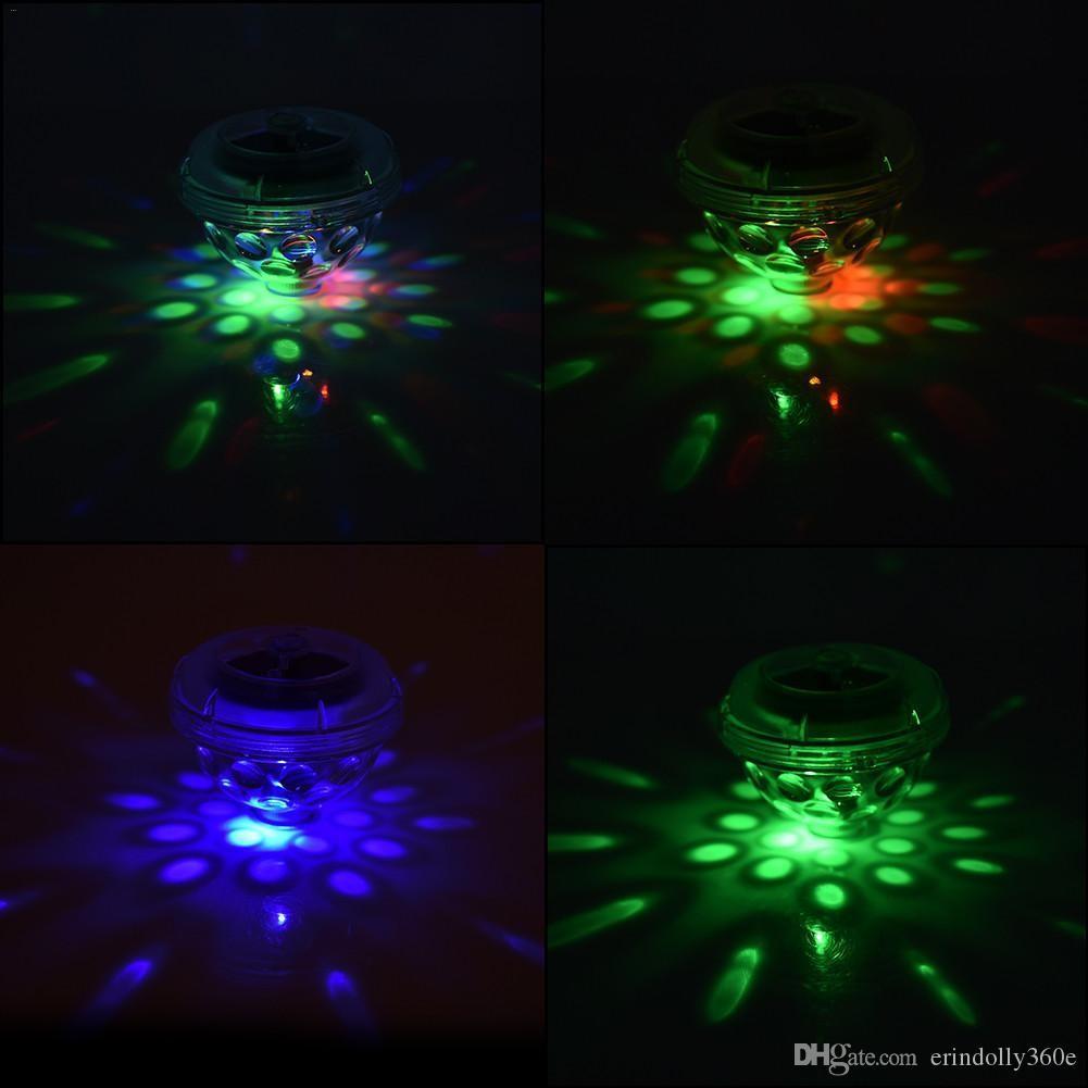 العائمة LED تجمع الضوء بركة المناظر الطبيعية RGB وامض وامض العائمة ضوء مصباح تعمل بالطاقة الشمسية للمنازل حديقة الطرف الديكور