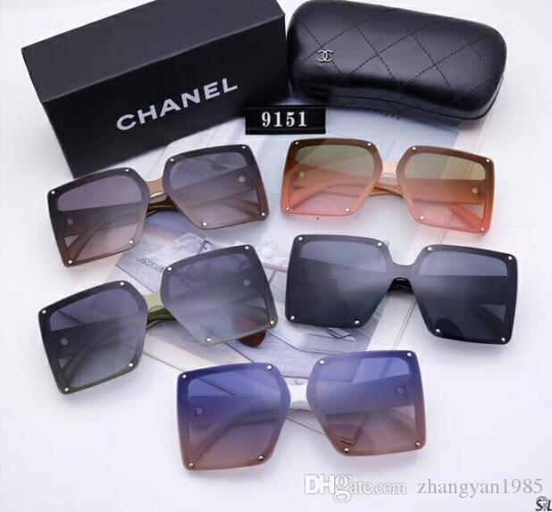 2020 nuevas gafas de sol gafas de sol de los diseñadores de lujo para hombre diseñadores de cristal para las mujeres que envían los vidrios UV400 Adumbral alta calidad libre 81