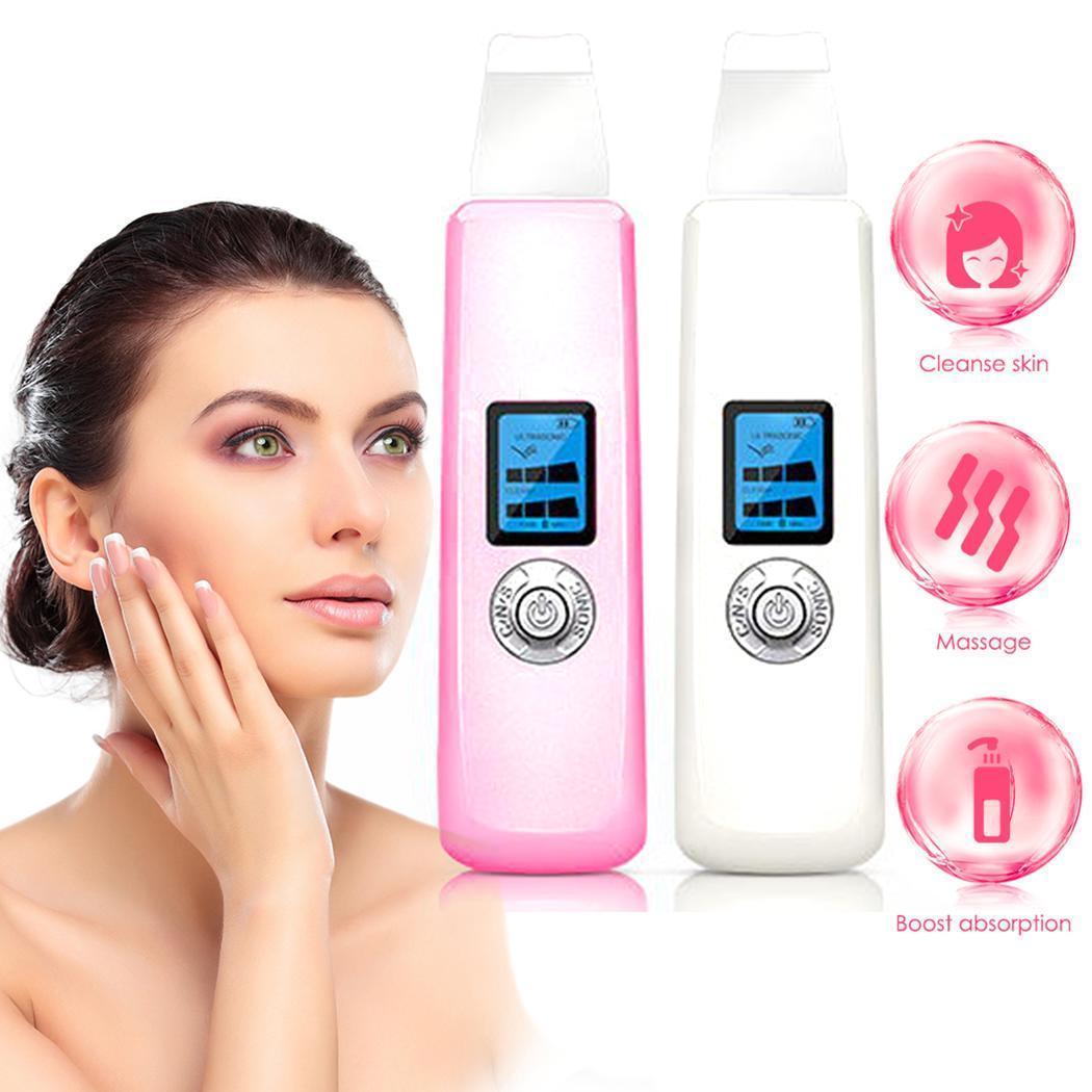 Ultra-sônica Elétrica Removedor de Cravo Otário 3 W Cabeça Preta Espinha Poros Limpo Pele Facial Limpeza Profunda Hidratante