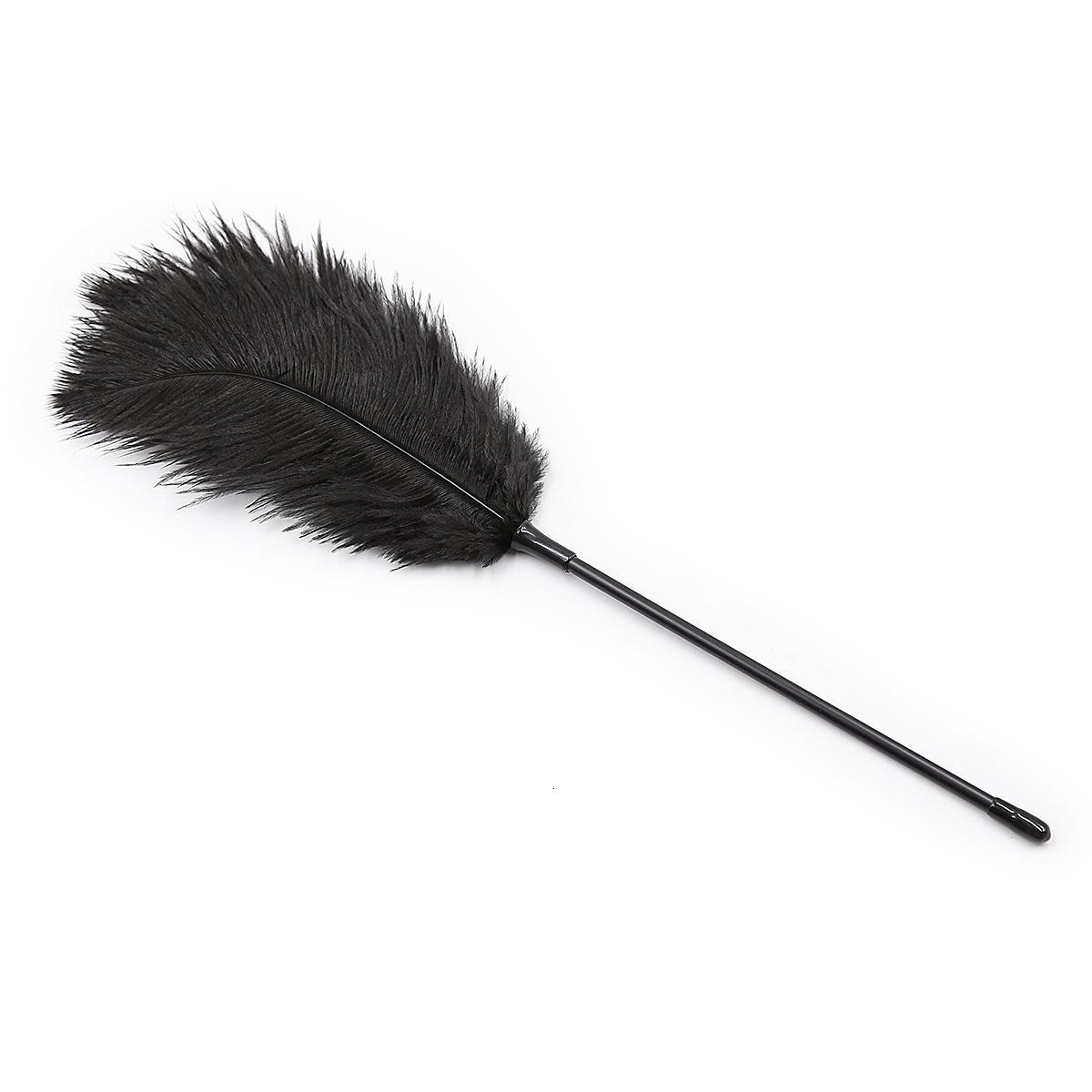 Фабрика SM женщина использует взрослый флирт перо щетки щекотать инструменты пыток перо палочки пары секс игрушки альтернатива T191109