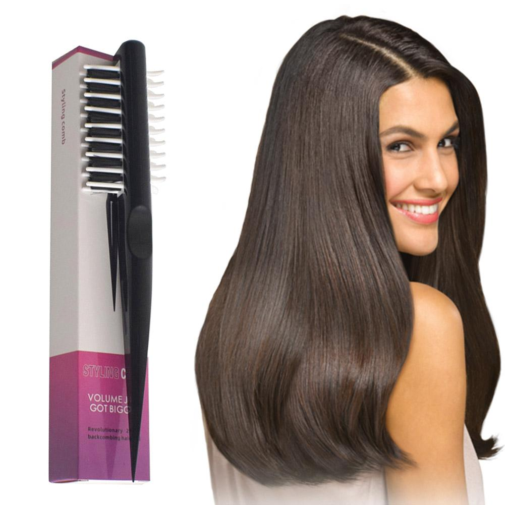 New Black Fashion Simple Styling Comb Hair Dryer Hair Styling Comb Multifunctional Curling tool Hair Tool