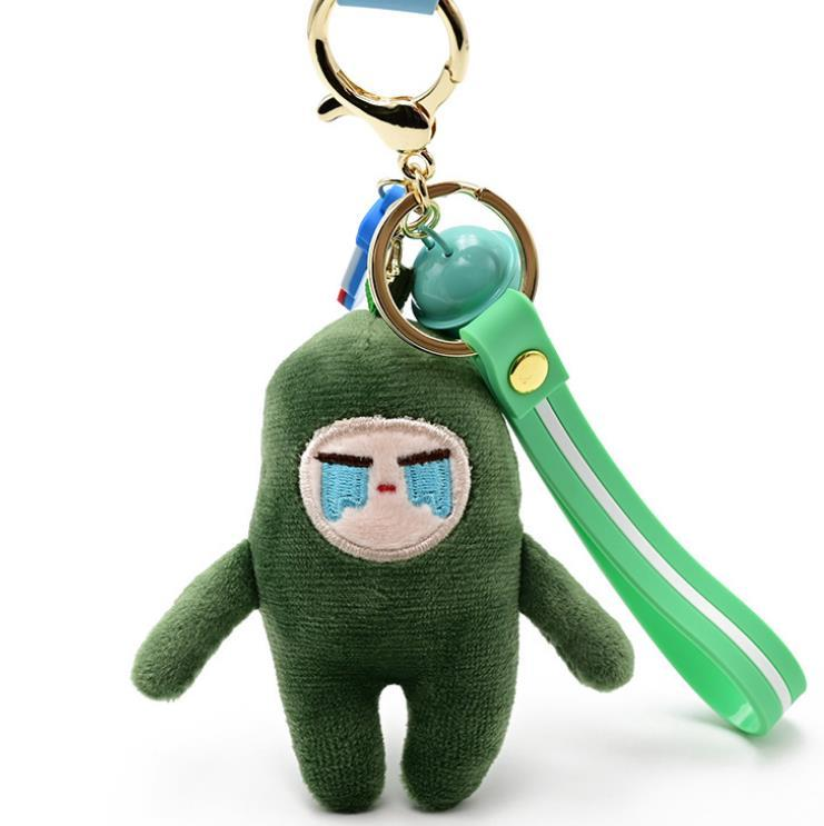 1pc new Creative Red/Green pepper plush keychain toys Pepper Brooch badge plush doll for kids girl gift