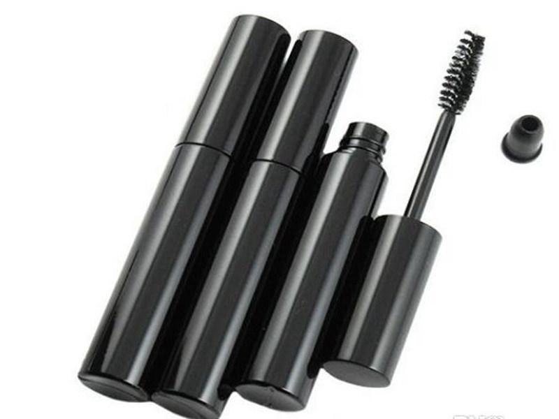 Hight kalite 225pcs / lot DHL Kargo BEDAVA 10ml siyah maskara fırçası şişe kozmetik maskara boş tüp paketi