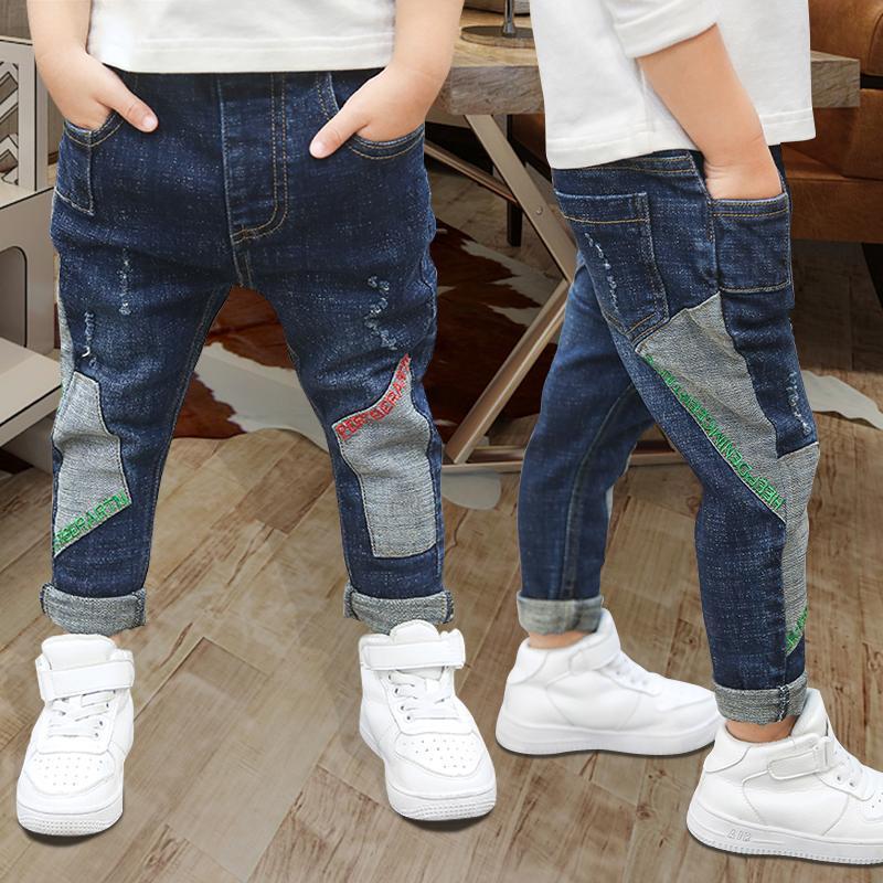 New Spring-Kind-Hosen-Mädchen-Baby-Jeans Thick Kinder Jeans für Junge Kinder beiläufiges Denim-Hosen-Kleinkind-Kleidung 5-12Y