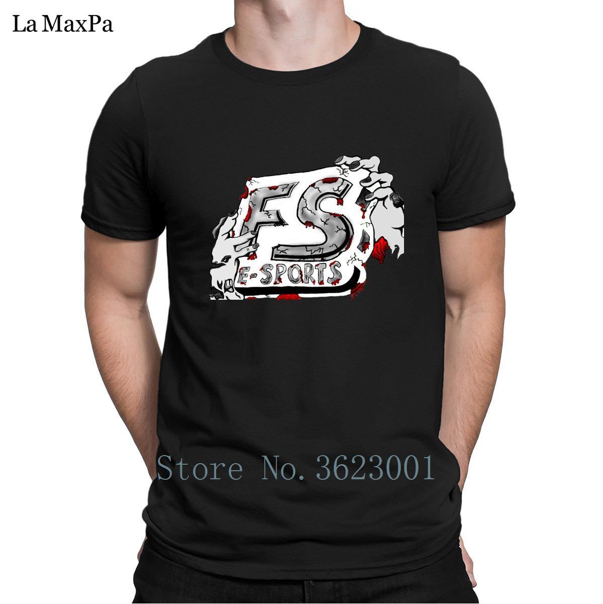 Slim Fit T-Shirt Zombie-Logo-Aufkleber Prototype Zeitlich begrenzt T-Shirt für Männer Original Branded T-Shirt Baumwolle Einfachen Hip Hop