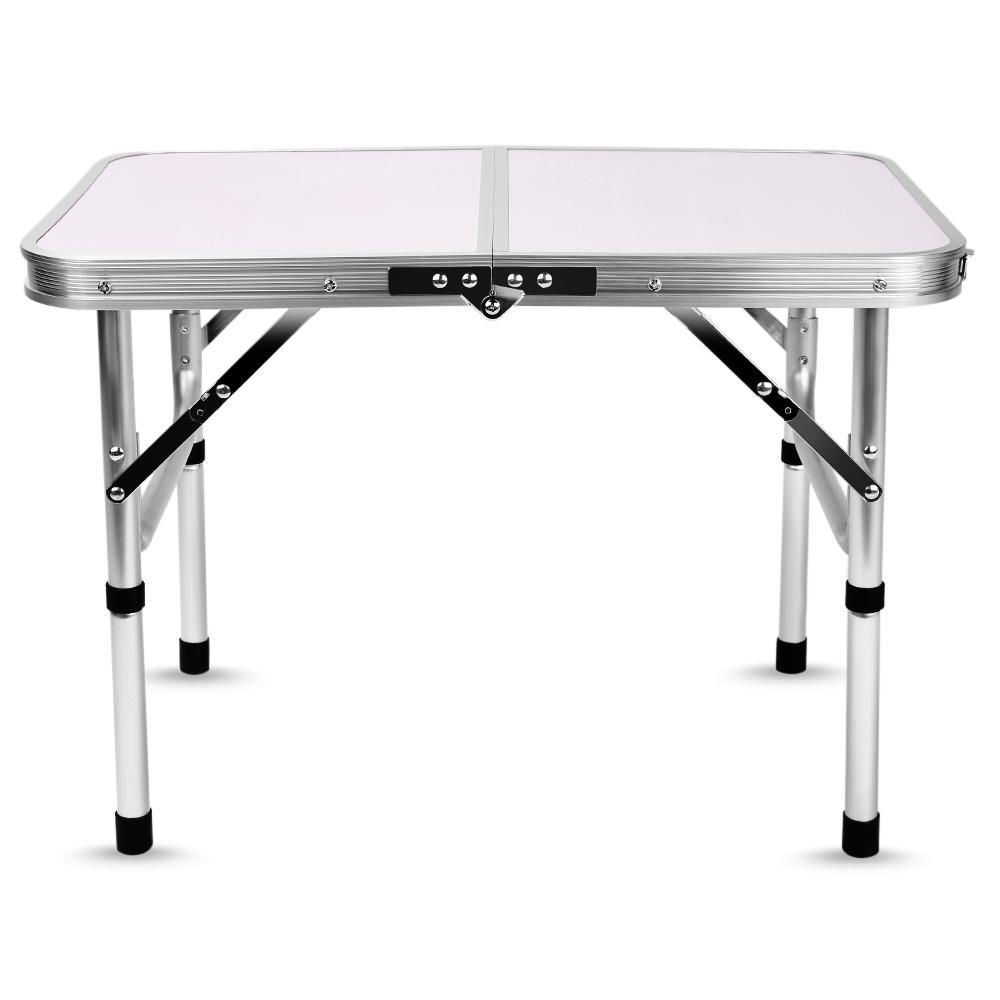 Tavolo Da Campeggio Alluminio.Acquista Tavoli Da Campeggio Pieghevoli In Alluminio Tavolo Da