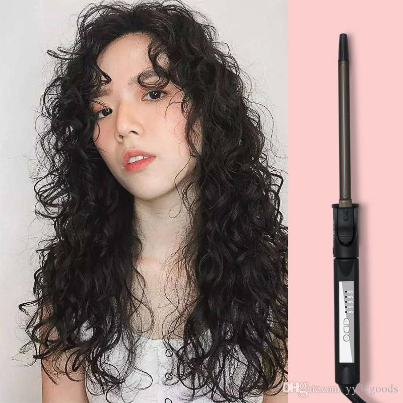 2019 Professional Hair Curling Iron Curly Hair Stick Digital Display Ultra Fine Electric Hair Curler Roller Curling Wand From Yy3cgoods 12 51