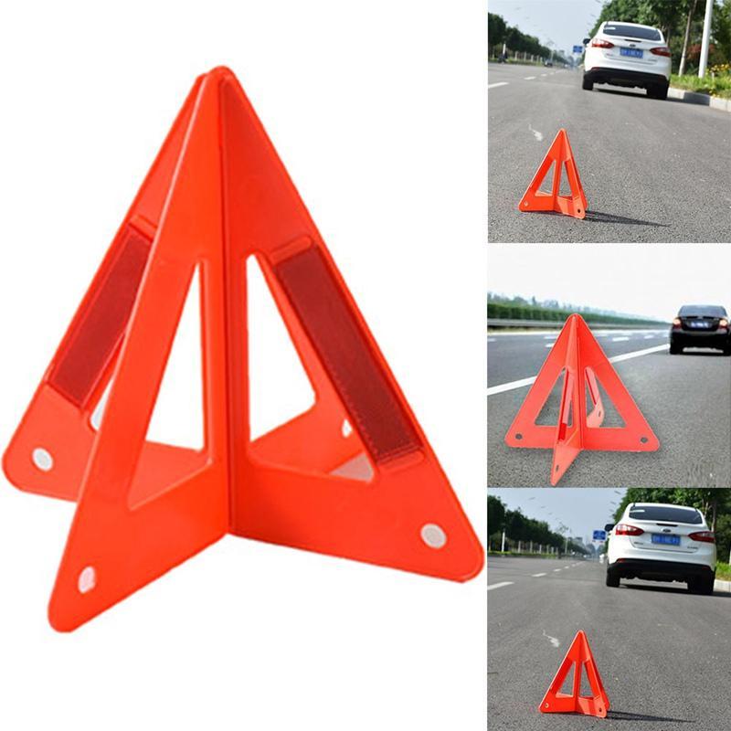 2018 Auto Safety Car Reflective emergência Triângulo de advertência 26 * 25 * 23CM barato HOT