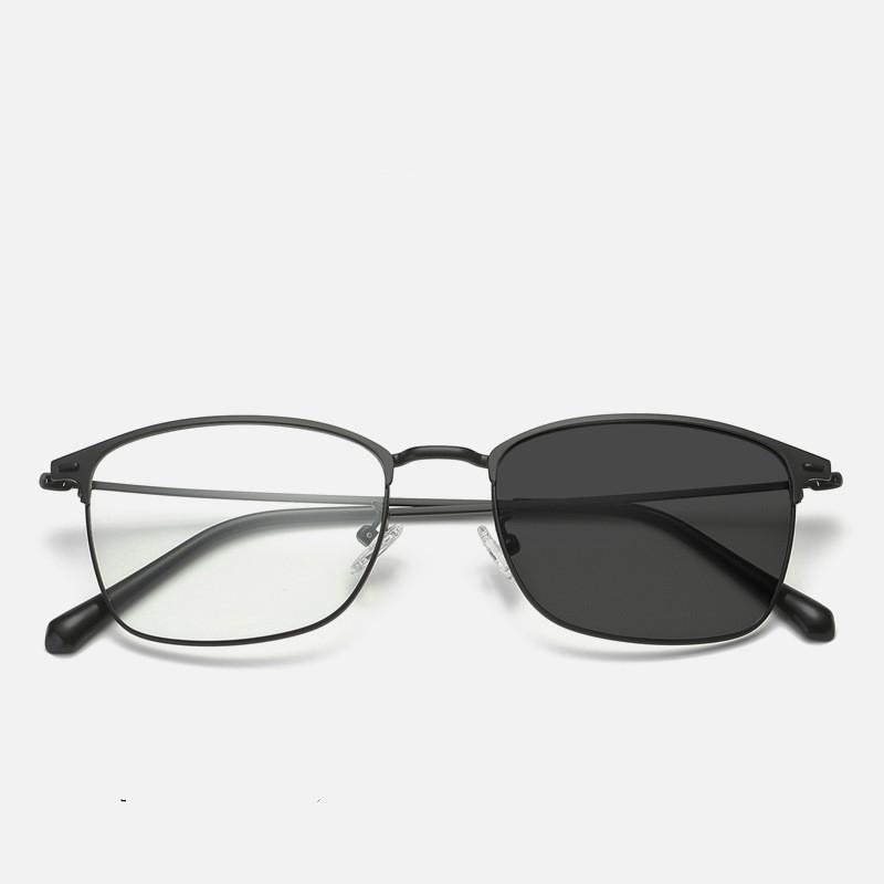 Moda marca propósito noite óculos de sol óculos condução dupla uv400 óculos espelho fototromic vkdpl