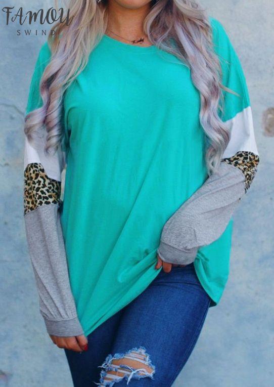 Дамы Леопард Сращивание С Длинным Рукавом Красивая Блузка 2020 Осень Зима Femme Harajuku Ulzzang Женские Топы Корейская Одежда