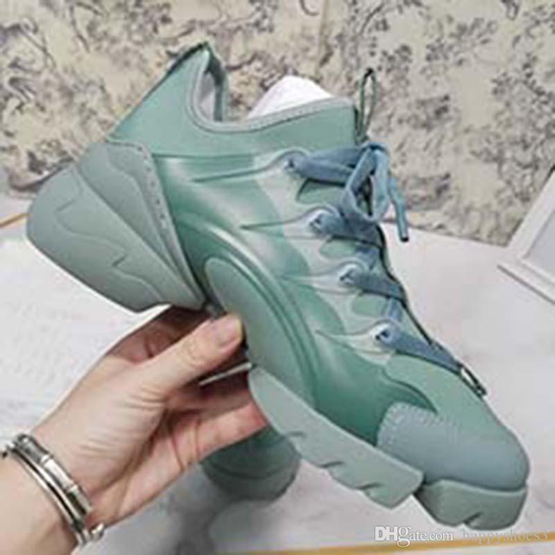 2020 mais novos Mulheres sapatos casuais botas de papai Sneaker Plataforma da Moda de Paris Mulheres Sapato Plataforma Sports Imprimir X66
