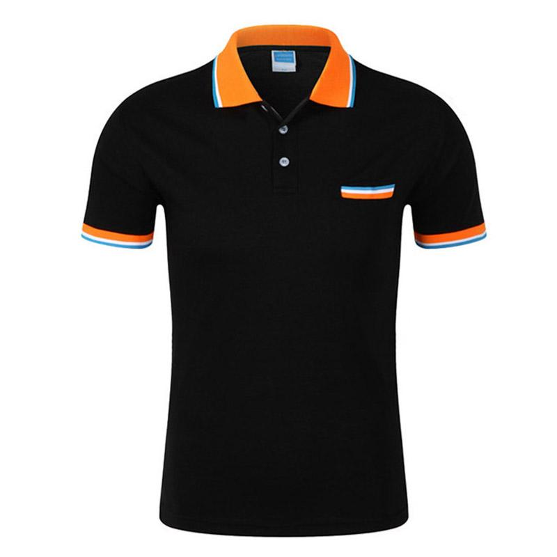 Brand Clothing Men 'S Polo Shirt Short Sleeve Men Cotton Solid Casual Polo Shirts Men Brand Polo Fashion Slim Fit Polos S -3xl