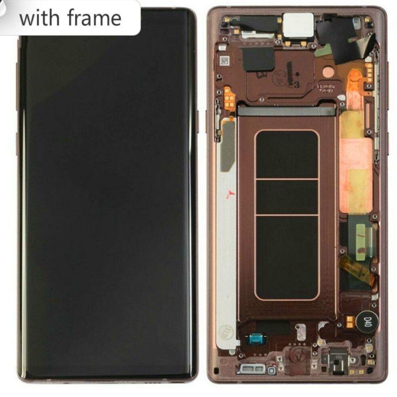 Per 6.4' Samsung Galaxy Note 9 Schermo LCD touch Note9 sostituzione Assemblea del convertitore per SAMSUNG Nota DHL 9 con schermo LCD