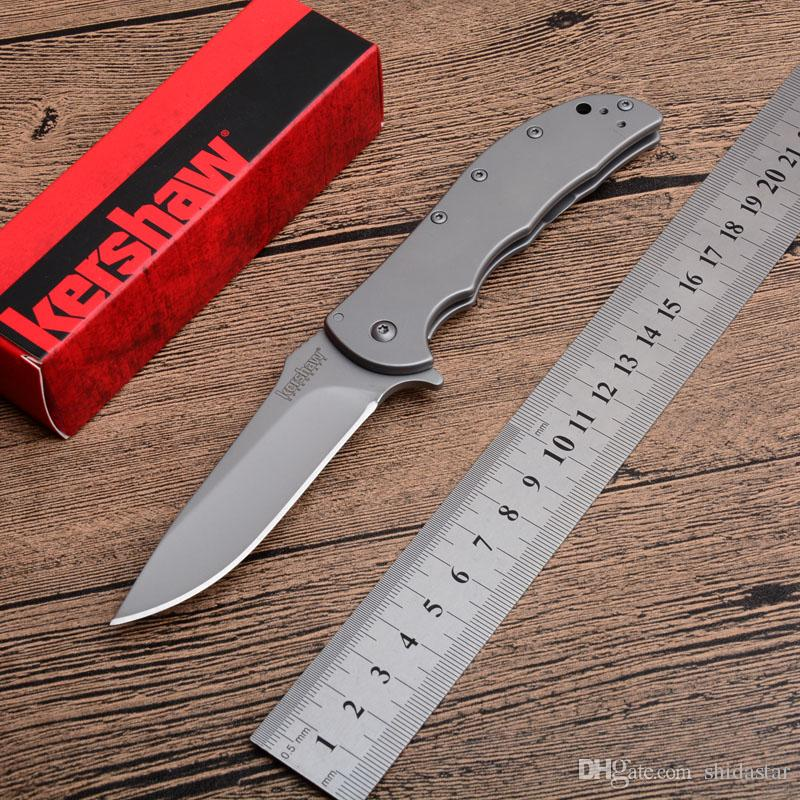 2019 KERSHAW Volt SS 3655 Titanium Tactical Folding Knife 8Cr13Mov Speedsafe Assisted Camping Hunting Survival Utility Rescue EDC Tools