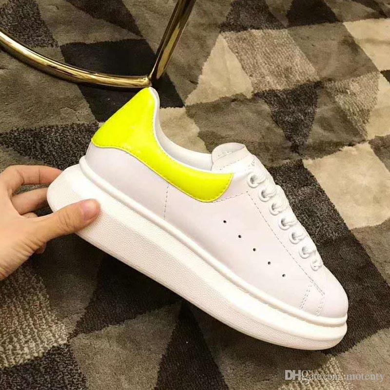 3M светоотражающая дизайнерская мужская британская обувь 2019 модная дизайнерская женская обувь Party Platform повседневная кроссовка EUR 35-45