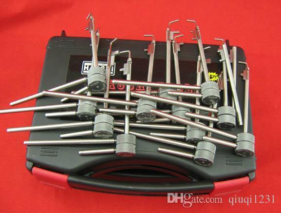 12 PCs 5 nesil Çilingir için bayrak direği kilit (Diebold, Kaplan güvenli picklock araçları kilit seçim kilit araçları için çilingir