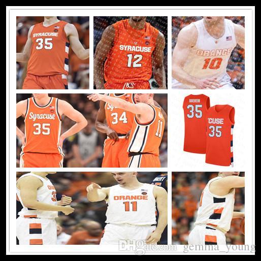 2021 Benutzerdefinierte Syrakus Orange Cuse College Basketball Buddy Boeheheim Marek Dolezaj Brycen Goodine Quincy Guerrier Bourama Sidibe Jersey 4XL