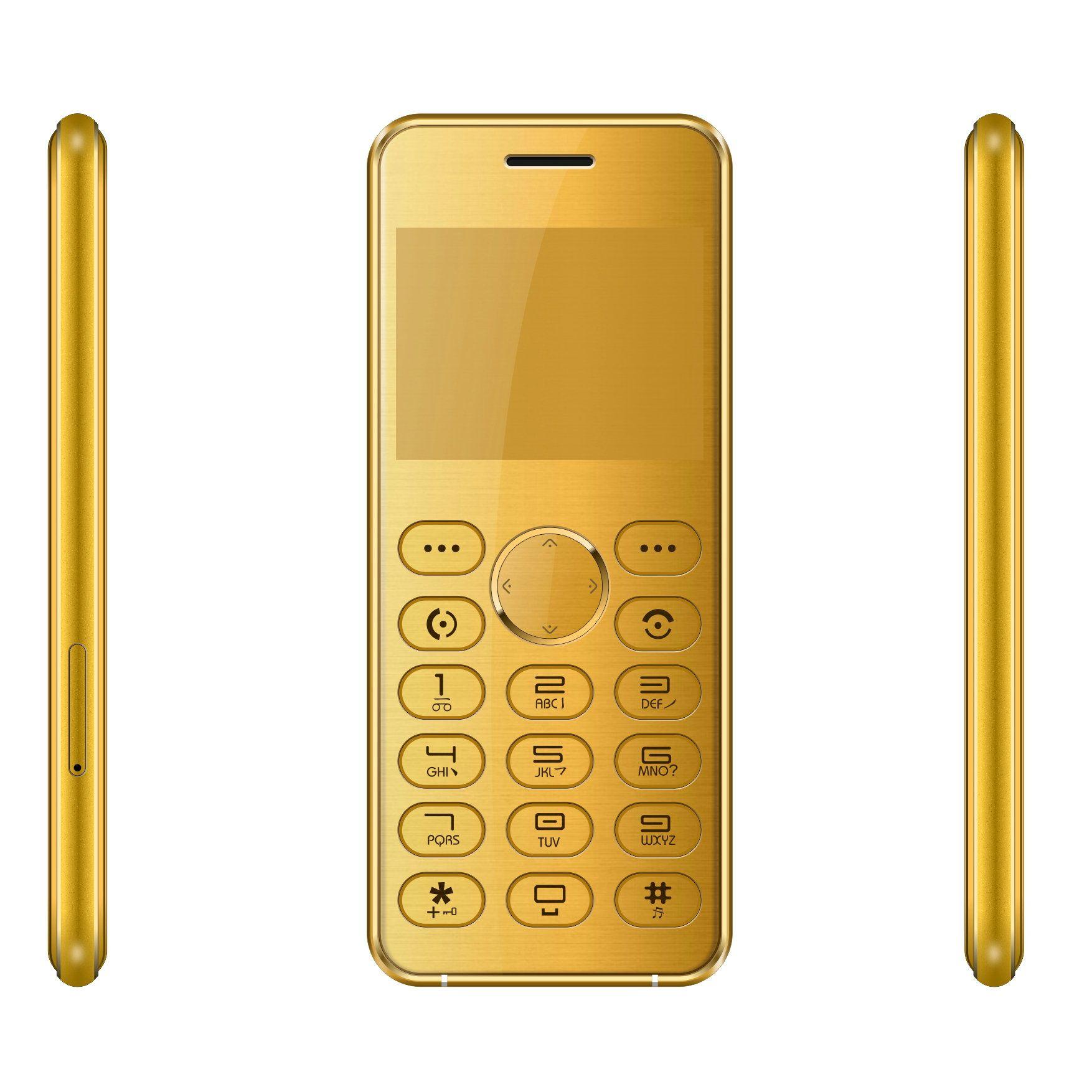 "Original Senior Mini Mobile Phone 2.0"" Small Size GSM Dual SIM Card Big Keyboard HD Camera Handfree Bluetooth Phone Pocket Bar Telephone"