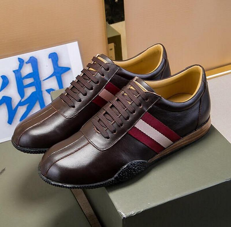 Os recém-chegados homens mulheres preto marrom branco couro genuíno sapatos casuais sapatilhas, marca designer de lazer sapatos baixos 38-44 frete grátis