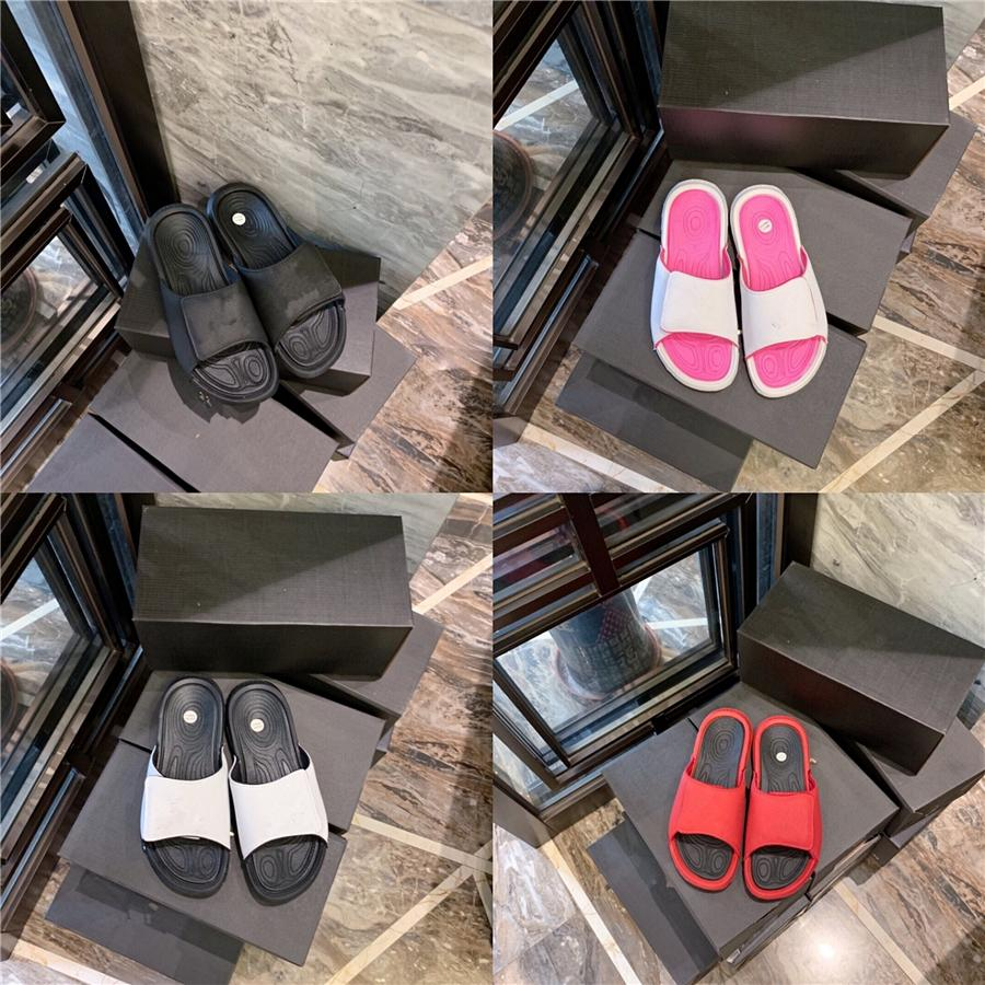 Shujin 2.020 plana zapatillas de playa de las mujeres romanas Zapatillas cuero de la PU del verano nuevas señoras de la sandalia del verano ocasional Mujer # 388