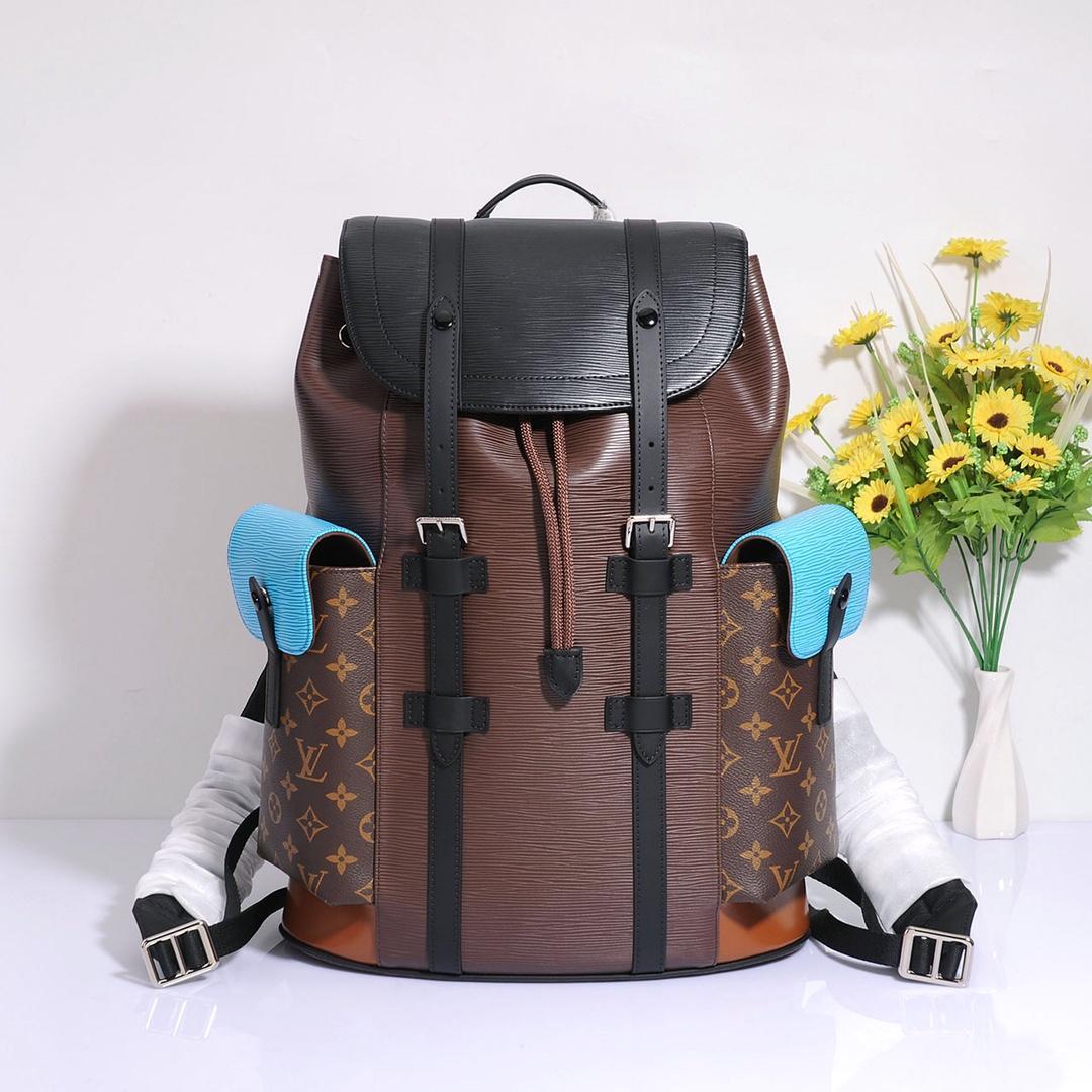 2020 modische Männer der Männer im Freien Rucksack Laptop Tasche reisen schwarz Rucksäcke Taschen für Teenager-High-Qualität 010502