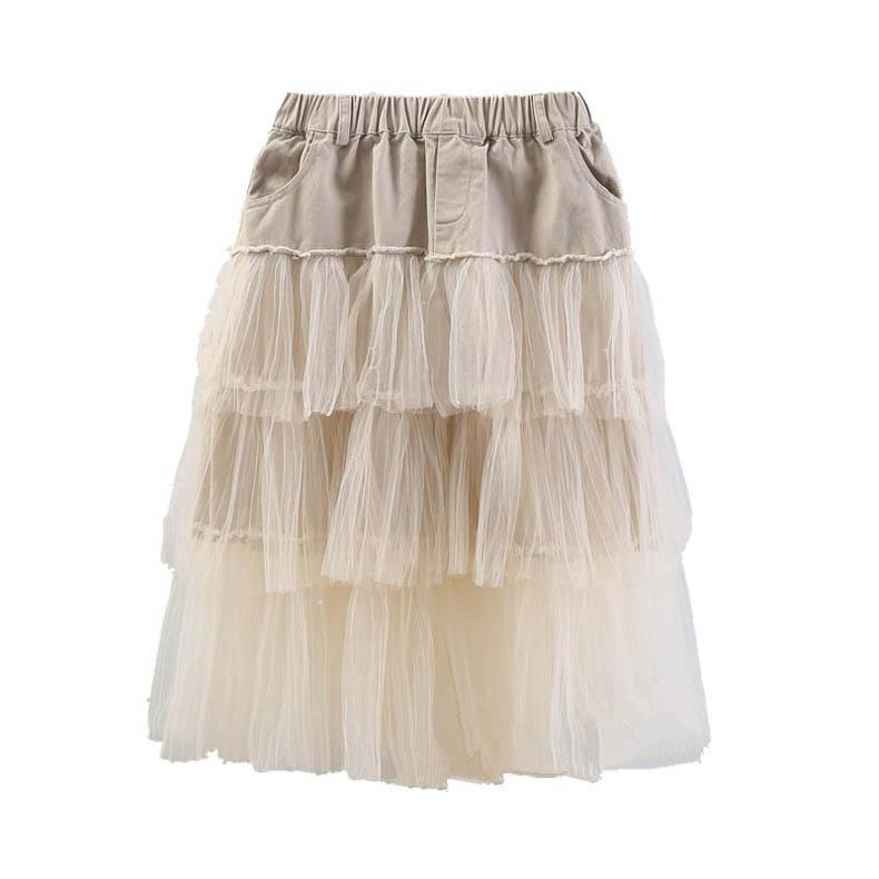 2020 rendas de moda meninas saias longas crianças saias princesa Tutu Saias saia em camadas crianças roupas de grife meninas meninas adolescente B912 roupas