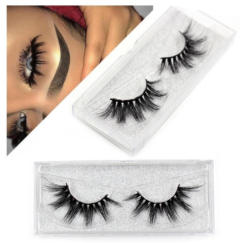 2019 Eyelashes Eyelashes Thick Natural Long False Eyelashes High Volume Lashes Soft Eye New Makeup