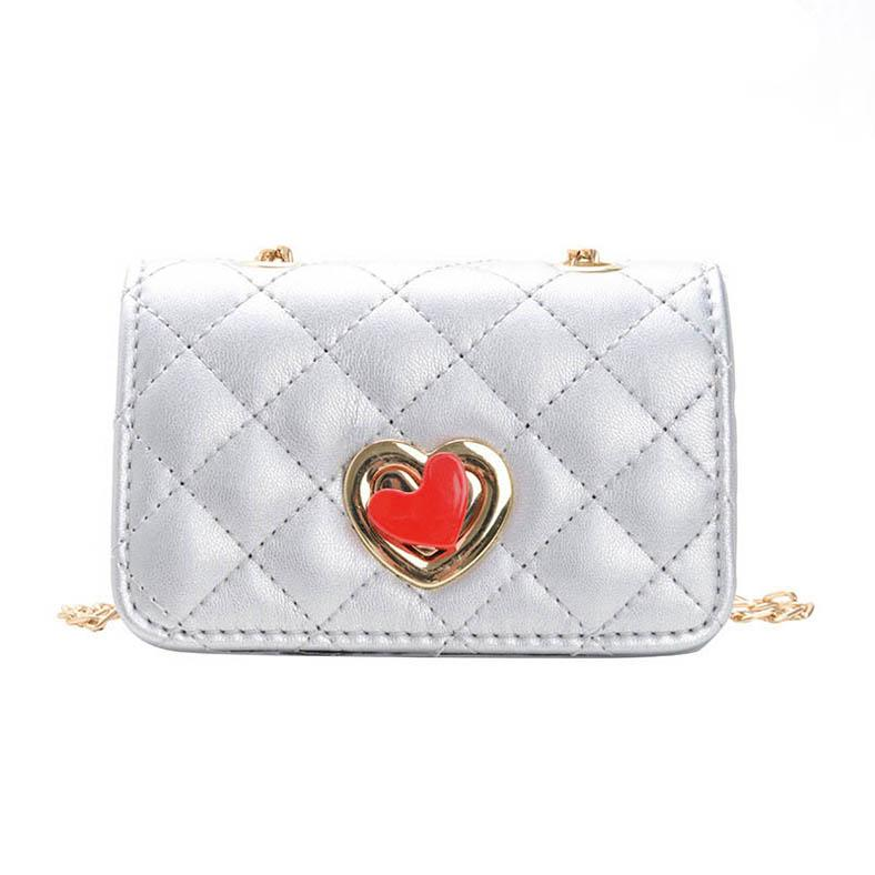 Ins моды Дети сумочек Мини девочки сумки дизайнерские сумки дети принцессы цепи девочки мешки плеча мешок посыльного девочек кошельки A10505