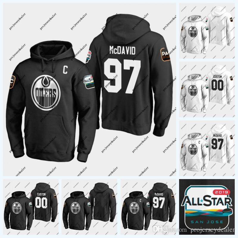 97 McDavid Edmonton Oilers 2019 All-Game Game Hoodie Alex Chiasson Milan Lucic Cam Talbot Leon Draisaitl Zack Kassian Darnell Nurse Jersey