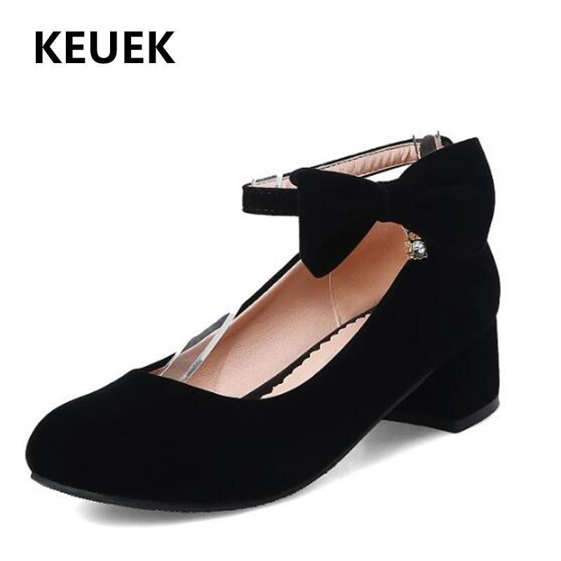 Zapatos planos primavera / otoño mocasines para niños bebé estudiante fiesta baile cuero niñas princesa rojo vestido negro tacones altos 02c