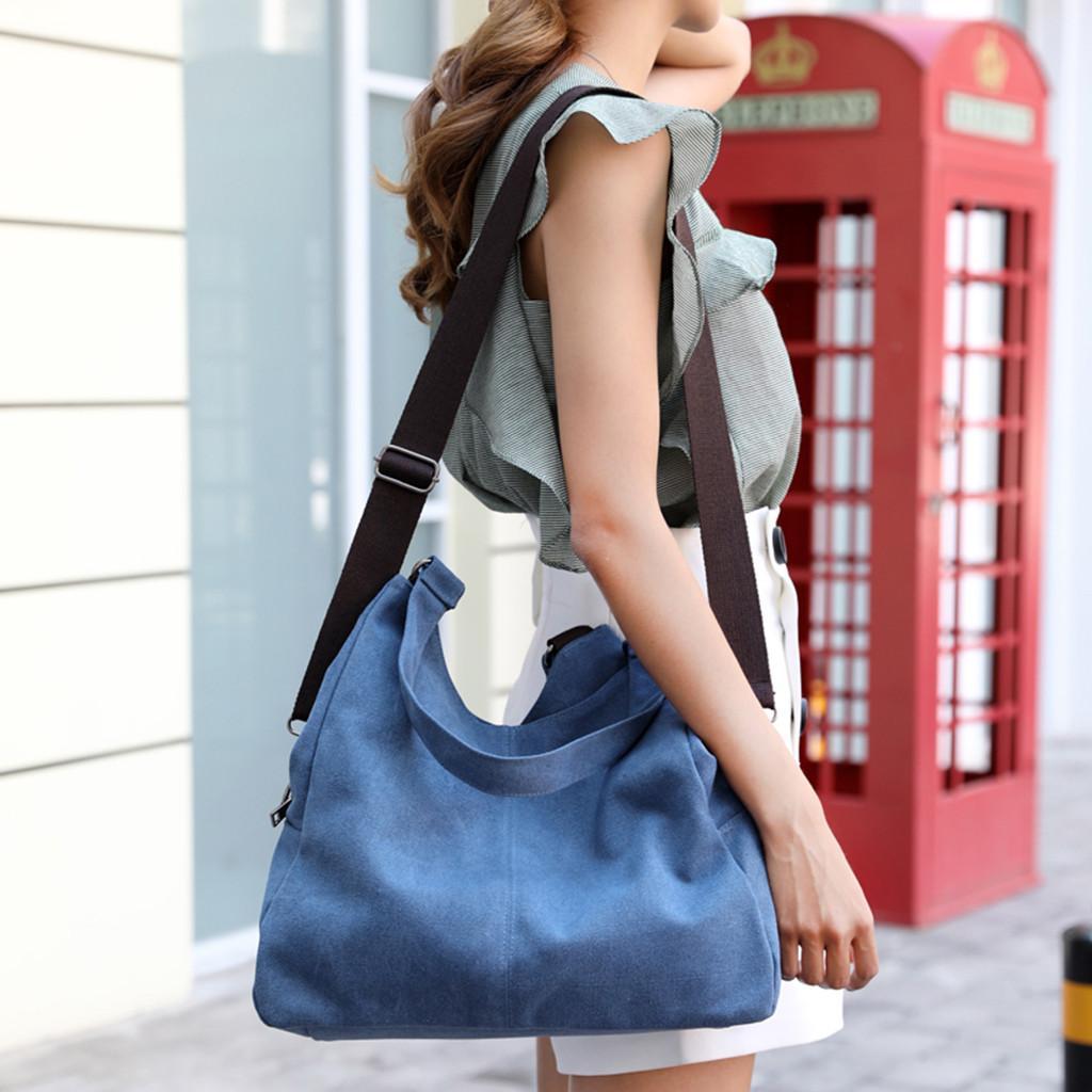 bolsas de grande capacidade das mulheres a tiracolo da alta qualidade 2.019 senhoras da lona macias bolsas das mulheres e bolsas de mão bolsa de compras