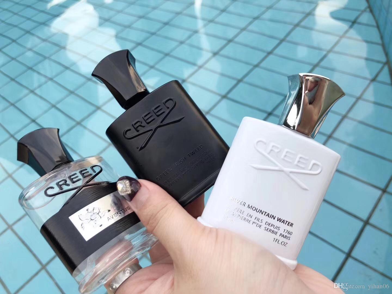 Hot Creed kit Silver Mountain Water Creed aventus kit de perfume de 30 ml 3 frascos con larga duración y alta calidad fragancia para hombres