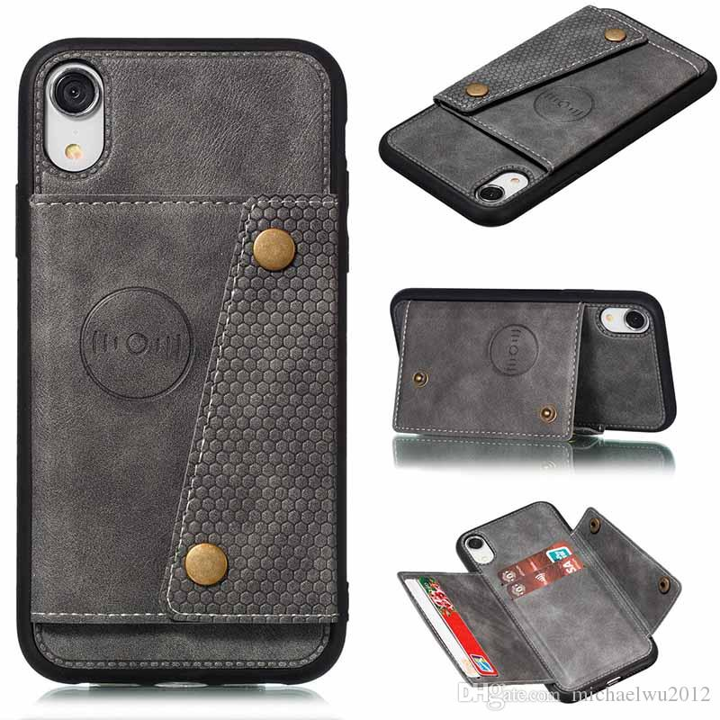 Wallet PU Leather Flip Silicone Phone Case For Iphone XR 7 8 6 6s Plus 11 Pro Max XS X Card Slot Holder Cover Coque Shell
