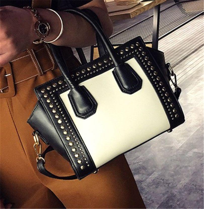 Мода Контрастность Цвет сумки New Wing сумка Креста тела сумка плеча высокого качества PH-CFY20052348