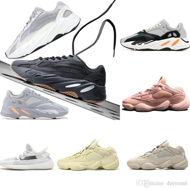 2019 delle donne degli uomini di design occidentale Saluto Mauve per la Mens statici V2 corridore corsa scarpe solide grige designer di lusso calza il formato 36-46