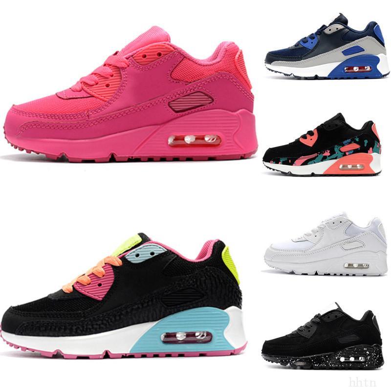 Nike air max 90 2020 Детские кроссовки Престо второй Детская обувь спортивная ортопедическая молодежные дети тренеры новорожденных девочек мальчиков кроссовки